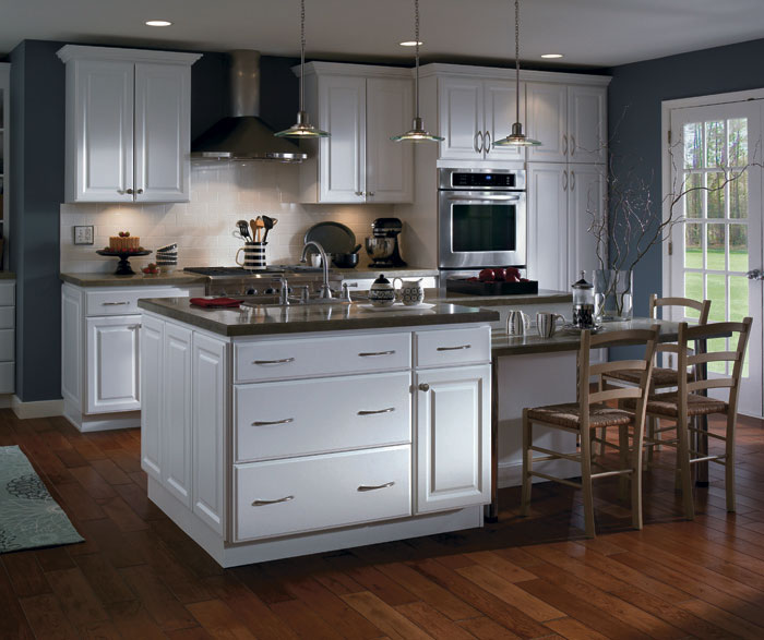 Can White Kitchen Cabinets Be Repainted: Kitchen Remodeling