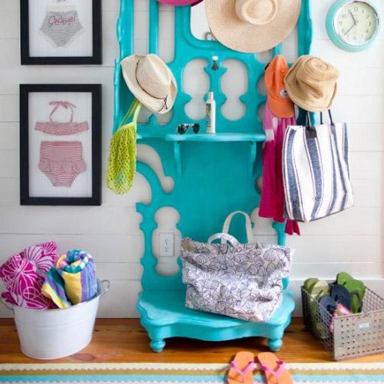 happy home decor colorful entrancejpg - Colorful Home Decor